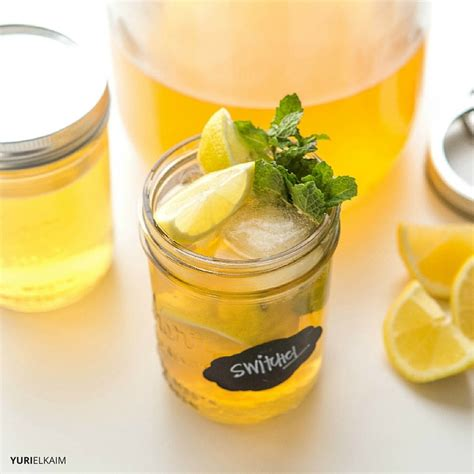 Sweet Apple Cider Detox Drink by Switchel The Apple Cider Vinegar Detox Drink Yuri Elkaim
