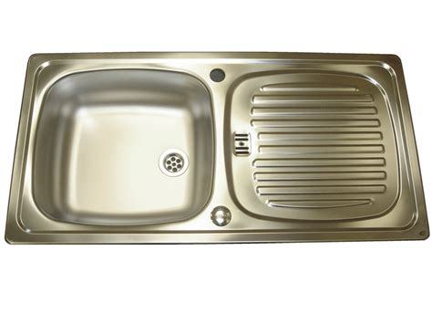 caravan kitchen sinks leisure euroline stainless steel sink and waste kit