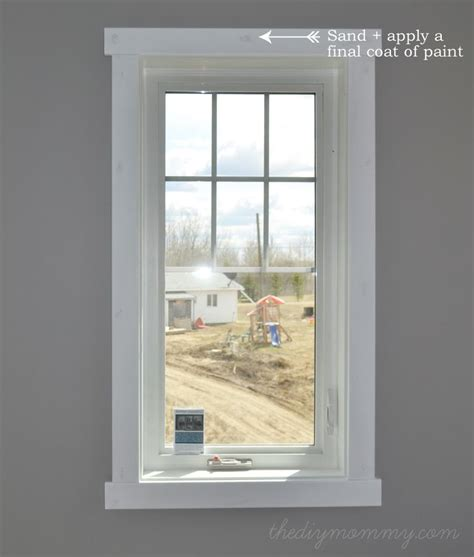 modern window trim best 25 interior window trim ideas on pinterest how to