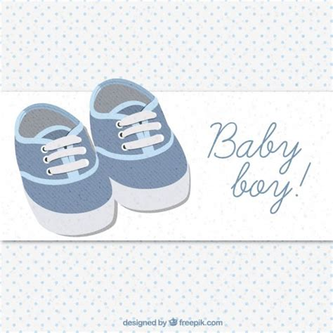 Baby Shoe Template For Card by Baby Shoes Card Vector Free