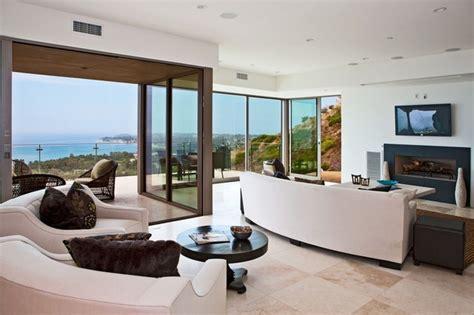 Moderne Wohnzimmer Gardinen 378 by Bridge House Malibu Modern Wohnbereich Los Angeles