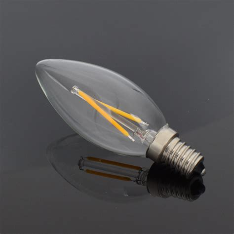 Led E12 Light Bulb E12 E14 Filament L Led Lights Candle Bulb C35 Chandelier Light Decors 3be6 Ebay