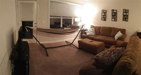 hammock in room living room hammock cool i put a hammock in the middle of living room dining kbdphoto