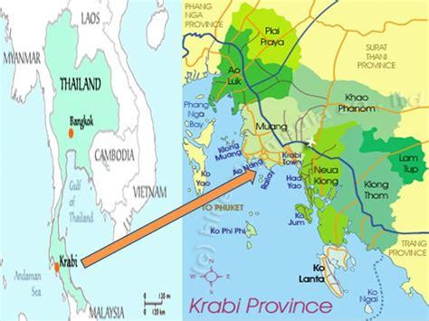 Online Resume Help by Krabi Province Map