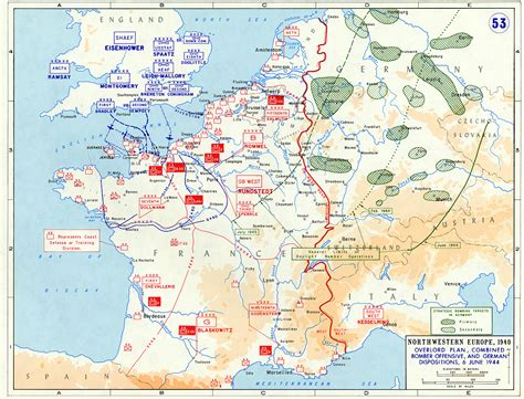 normandy map map of the plan for operation overlord