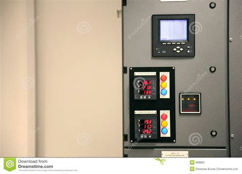 high tech office utilities the iquad interactive board distribution board stock photography image 998862