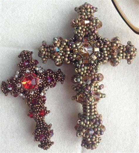 beaded cross byzantine cross bead schoolbyzantine cross bead school
