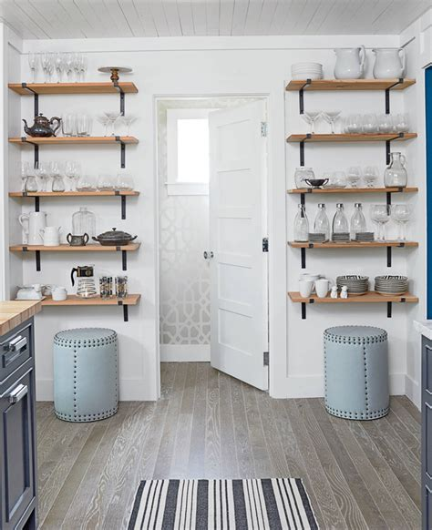 Kitchen Racks And Shelves by Open Kitchen Shelves Farmhouse Style Intentional Hospitality