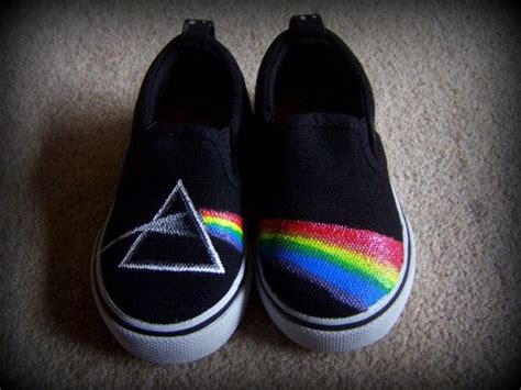 Sepatu Converse Pink Floyd Pink Floyd S Side Of The Moon Shoes For By