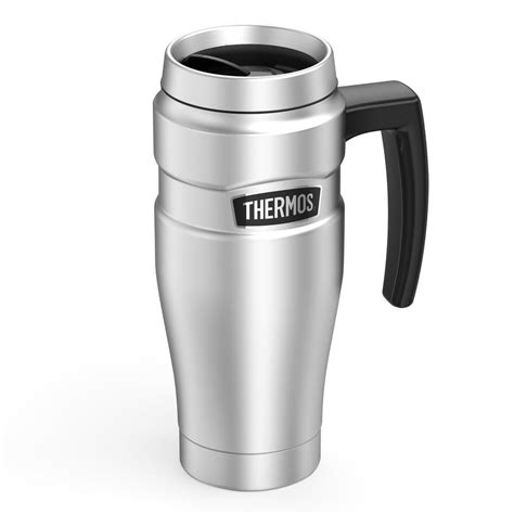 Termos Mug Stainleaa thermos stainless king 16 oz vacuum insulated stainless steel travel mug sk1000sttri4 the
