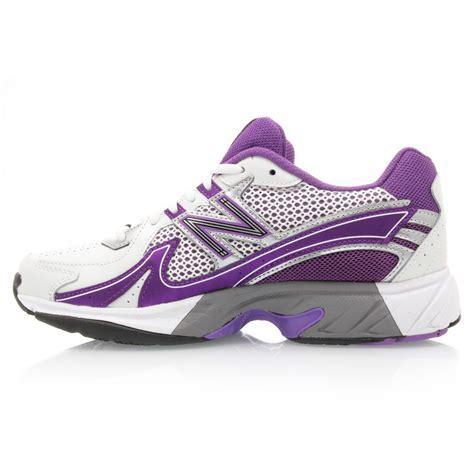netball shoes new balance 1600 womens netball shoes white purple
