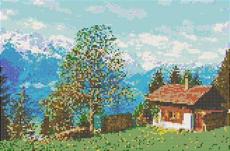 mosaic tile house heidi s house mosaic tile art