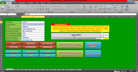 download format absensi guru excel aplikasi absensi guru di sekolah format excel file sekolah
