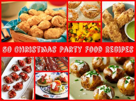 party food 50 christmas party food recipes