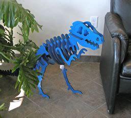 laser cutting  dinosaur model