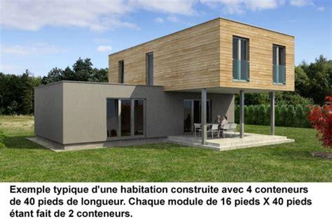 Tiny House Plans Modern conteneurs recycl 233 s construction de maisons et logement