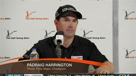 padraig harrington swing shirt the golf swing shirt tv commercial conference featuring
