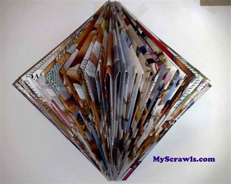 News Paper Craft - paper craft wall hanging