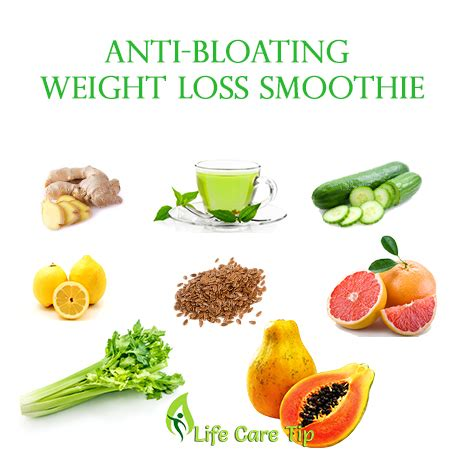 Detox Anti Bloating Diet by Weight Loss Anti Bloating Smoothie To Cleanse Your Colon