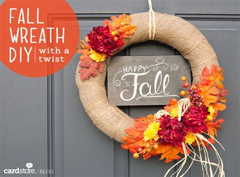 make a gorgeous fall wreath for under 30 diy