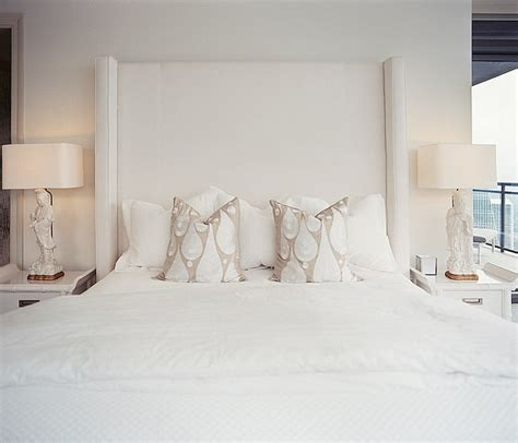 tall white headboard upholstered headboard design ideas