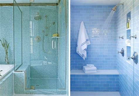 aqua glass tile bathrooms tile design ideas