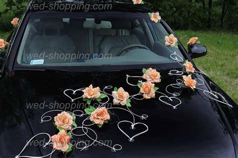 Autoschmuck Hochzeit by Autoschmuck F 252 R Hochzeit Salmon