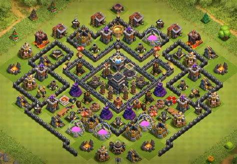 layout coc base war th9 top 12 best th9 trophy base 2018 new update anti
