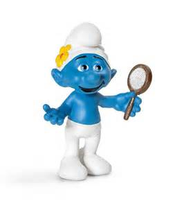 vanity smurf by schleich 20756 really great toys