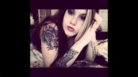 Hot Tattoo Youtube | hot girls with tattoos collection 2 youtube