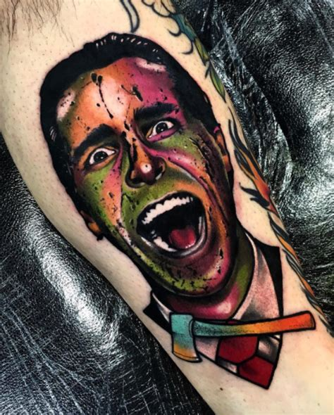 american psycho tattoo american psycho inkstylemag