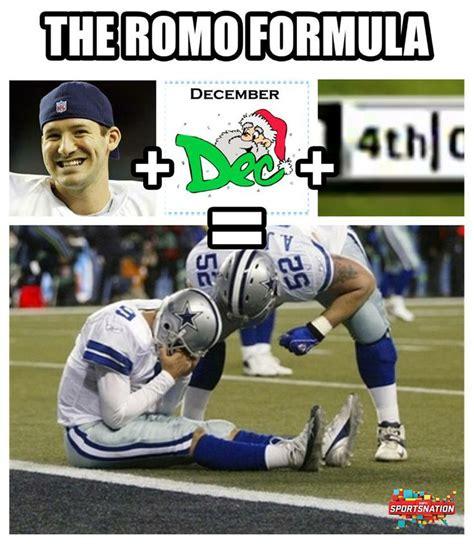 Tony Romo Interception Meme - bays tony romo and green on pinterest