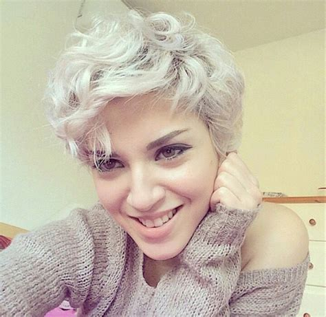 pixie cut roller curls 20 lovely wavy curly pixie styles short hair curly