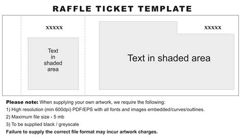 free template for raffle tickets with numbers template for raffle tickets with numbers