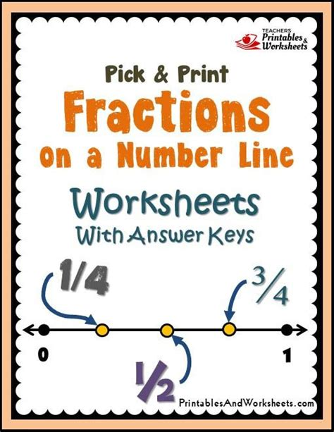 printable fractions on a number line search results for fractions on number line worksheet