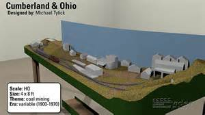 3d track plans the 4x8 ho scale cumberland amp ohio