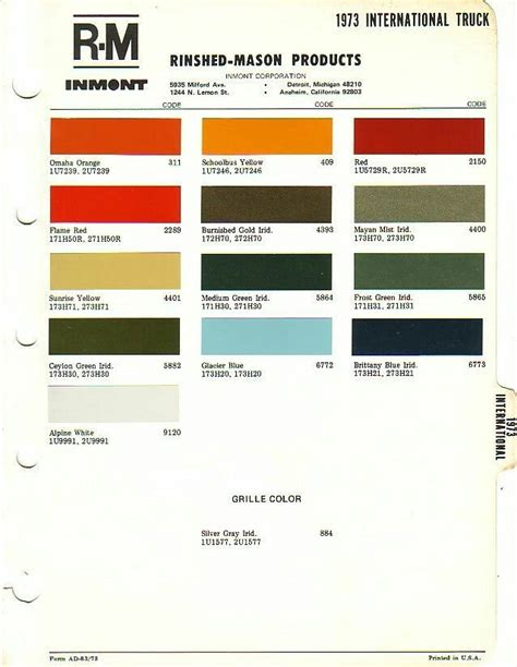international exterior paint scout 73 paint colors international harvester scout ii
