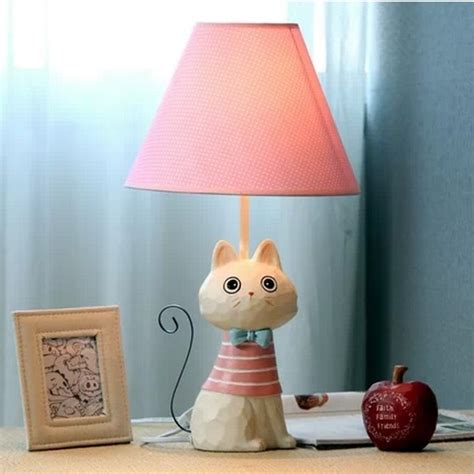 fabric lampshade cartoon cat wedding birthdaynew years