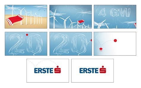 erste bank erste bank storyboards bridge fazio graphics