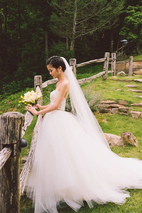 Wedding Hairstyles Real Brides by Wedding Dresses Photos Strapless Gown With