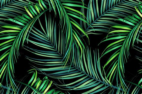 jungle pattern texture jungle palm leaves tropical pattern patterns creative