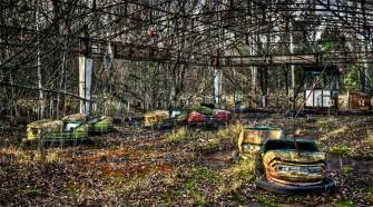 The beauty of the most haunted and mysterious abandoned amusement