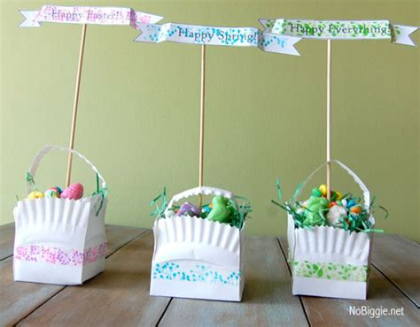 Paper Basket Craft Ideas - 12 clever diy easter basket crafts