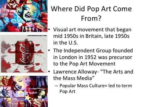 where did pop originated from pop powerpoint