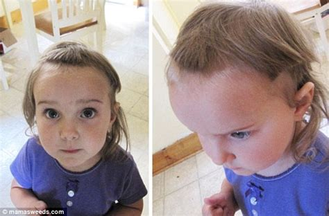 father oif teenager cut hair to look like george jefferson parents share funny photos of kids who cut their own hair
