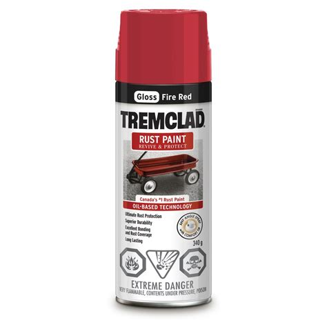 tremclad 340g based rust spray paint lowe s canada
