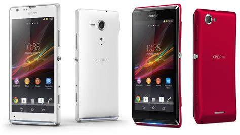 Hp Android Sony Sp sony xperia l techarena