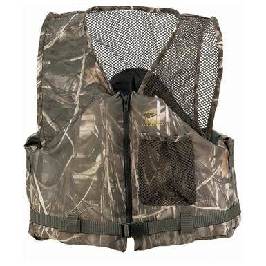 comfortable life vest stearns 174 comfort series ducks unlimited 174 life vest with