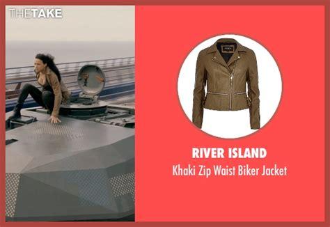 fast and furious zip michelle rodriguez river island khaki zip waist biker