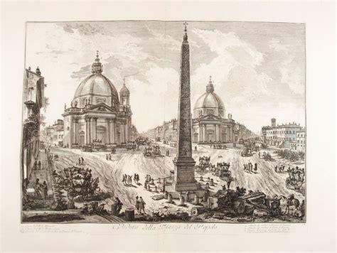 asta di roma battista piranesi mogliano veneto 1720 roma